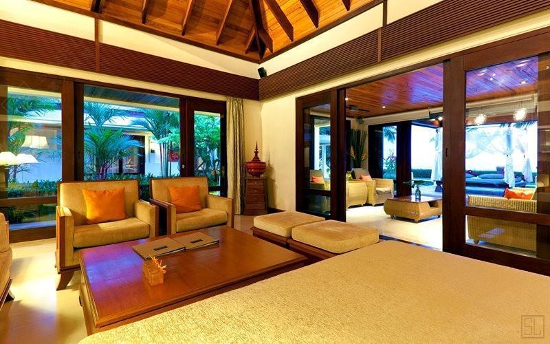 泰国苏梅岛密斯卡湾金合欢别墅客厅