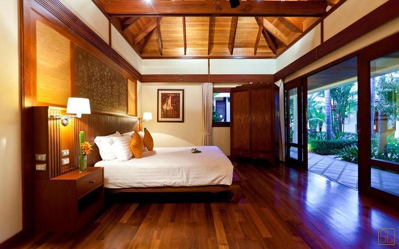 泰国苏梅岛密斯卡湾金合欢别墅卧室