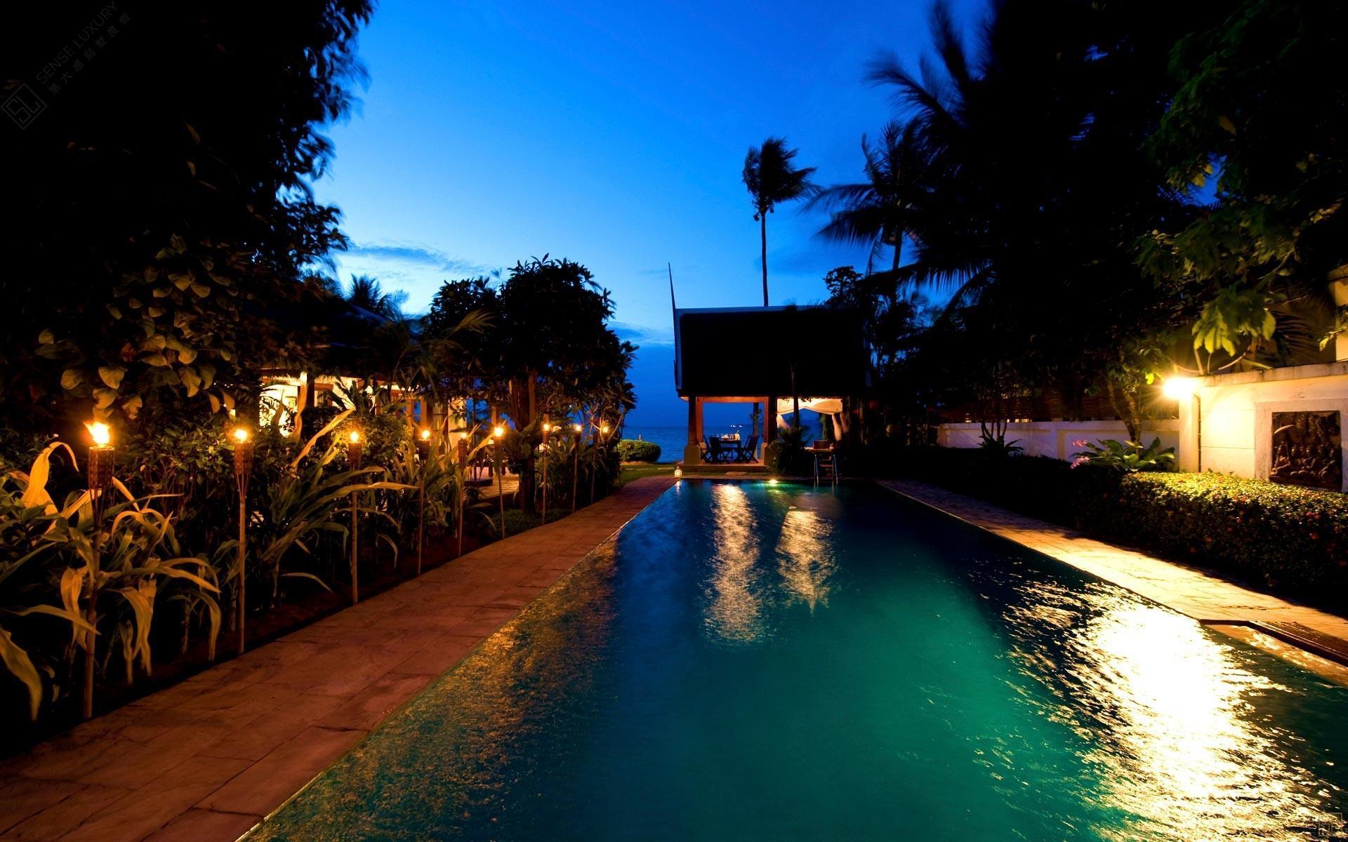 泰国苏梅岛密斯卡湾罗望子别墅独立泳池