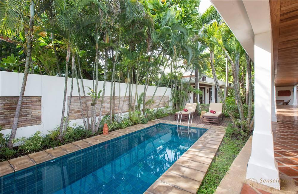 泰国苏梅岛密斯卡湾九重葛别墅独立泳池