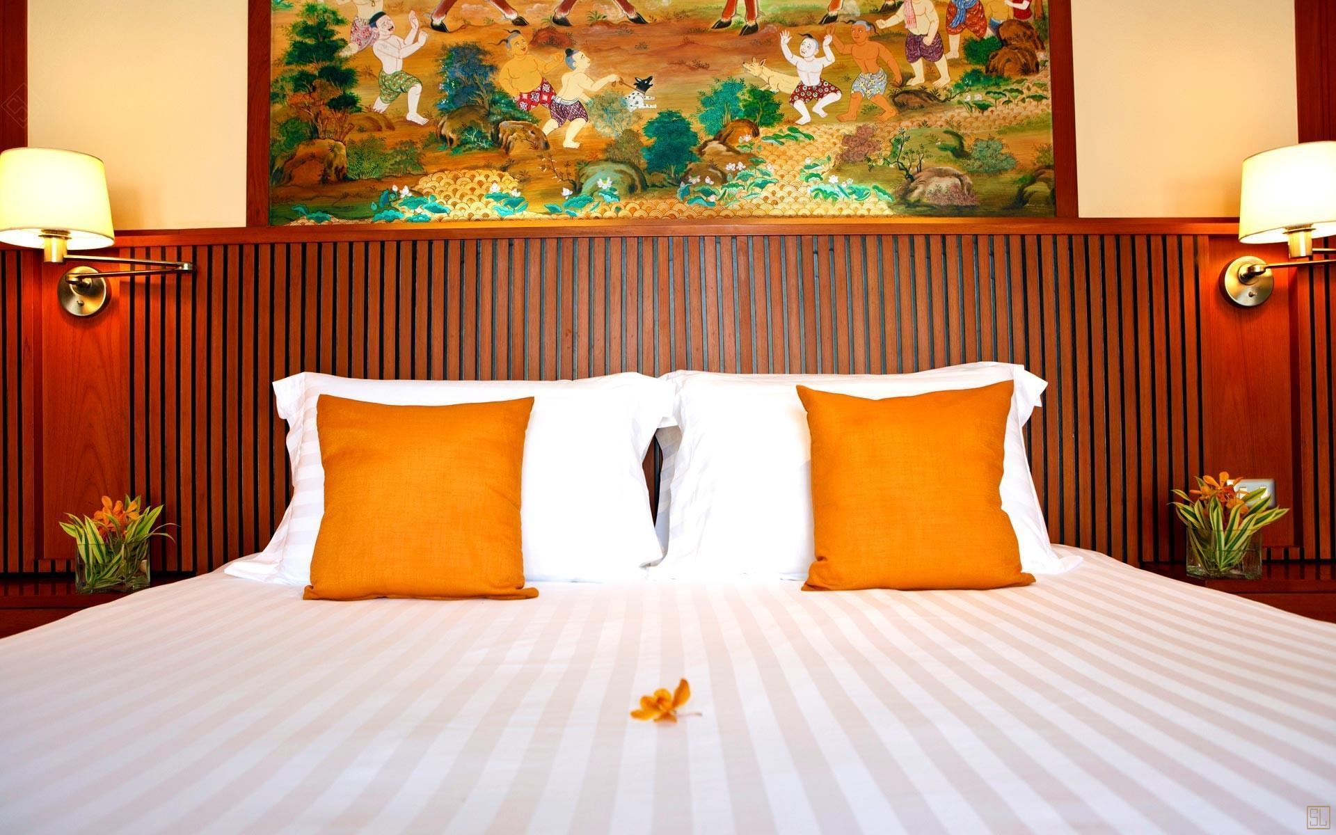泰国苏梅岛密斯卡湾黄兰别墅卧室