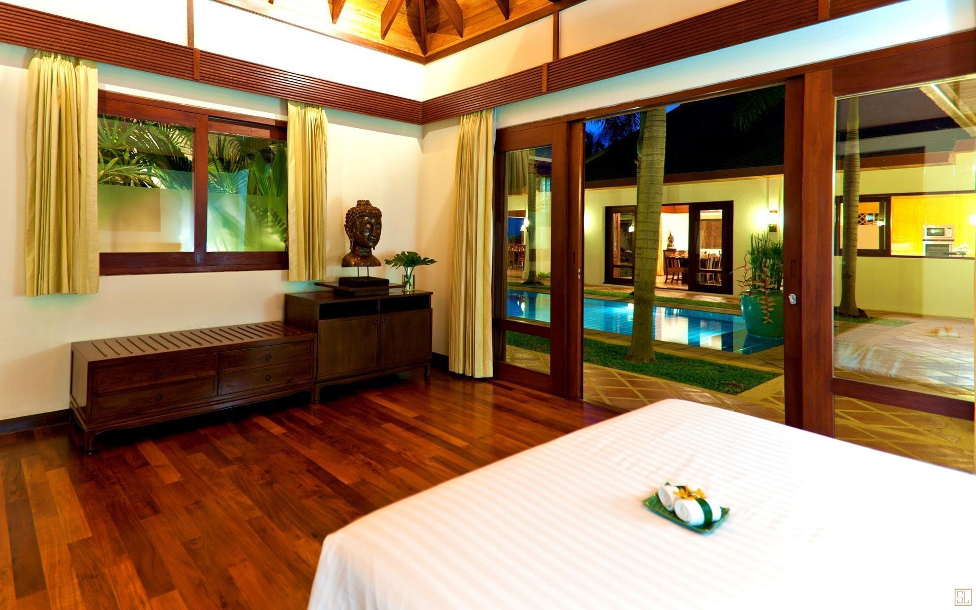 泰国苏梅岛密斯卡湾素馨别墅卧室