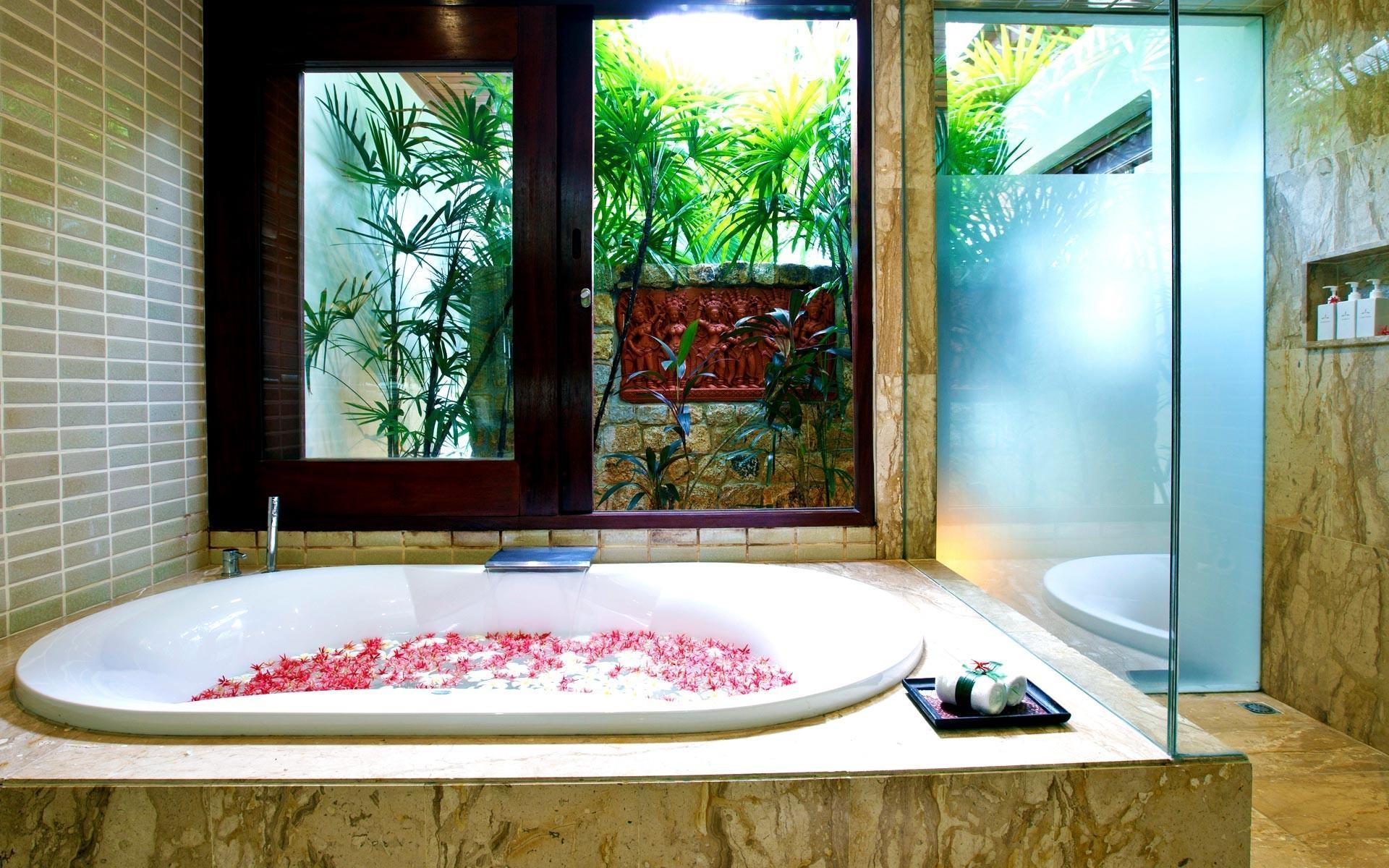 泰国苏梅岛密斯卡湾素馨别墅浴室