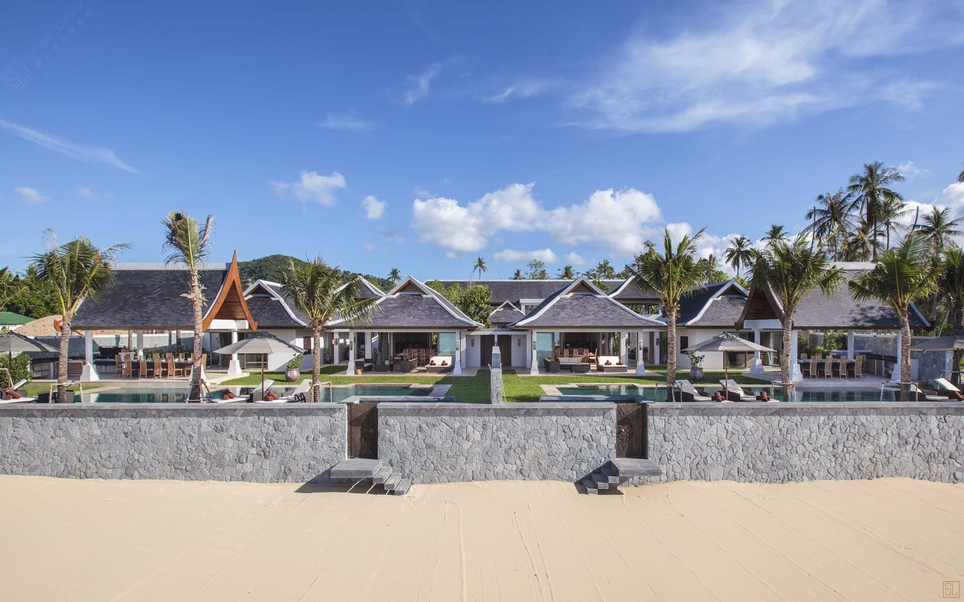 泰国苏梅岛密斯卡湾西拉别墅外景