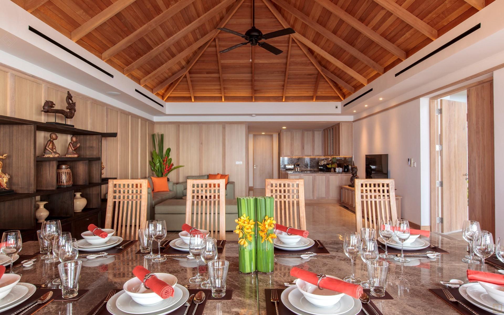 泰国苏梅岛密斯卡湾西拉别墅餐厅