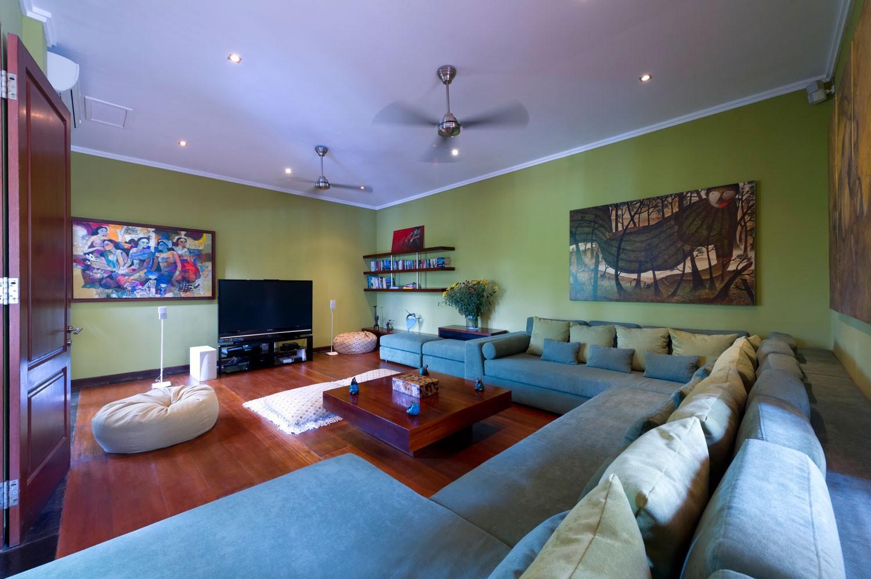 印尼巴厘島阿斯納莊園別墅客廳內景