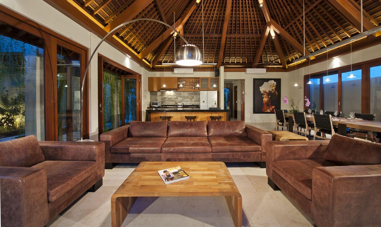 印尼巴厘島佛香別墅客廳內景