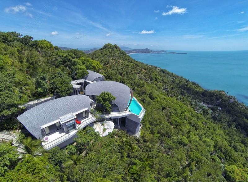 泰国苏梅岛月影别墅山景