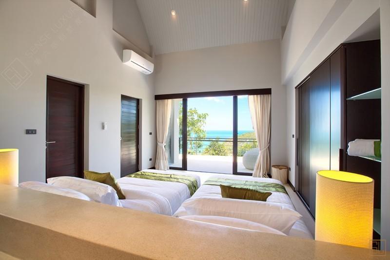 泰国苏梅岛月影别墅双人卧室
