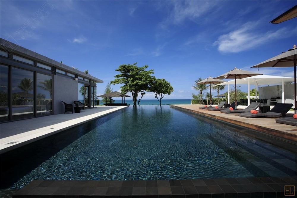 泰国普吉岛夏尔别墅泳池