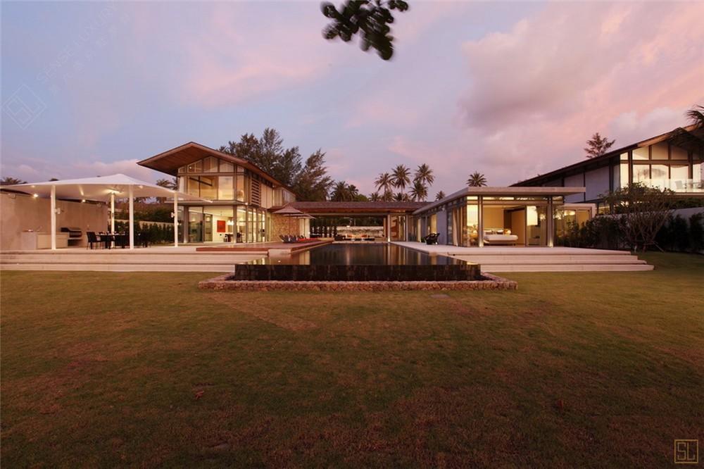 泰国普吉岛夏尔别墅庭院