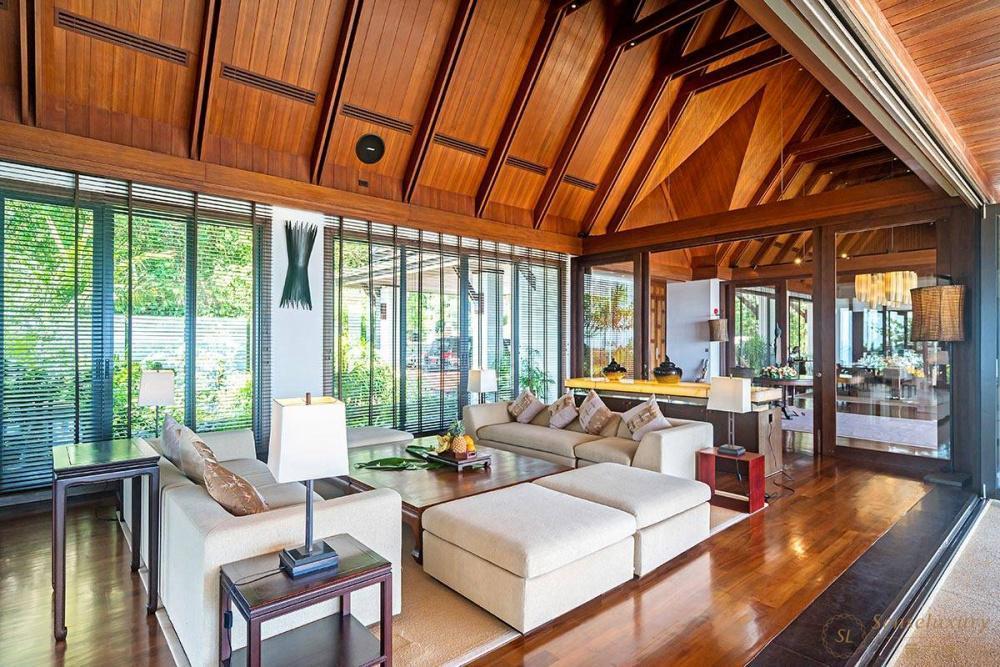 泰国普吉岛艾逸别墅客厅