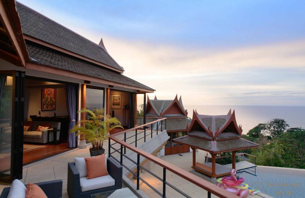 泰国普吉岛瑞卡塔湾别墅 客厅