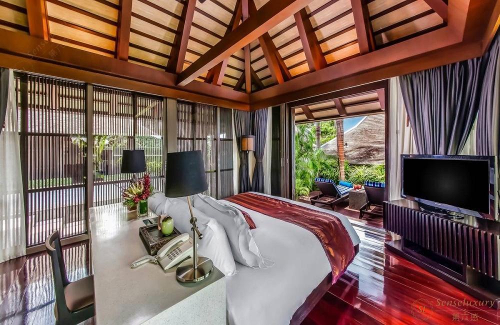 泰国苏梅岛阿卡苏奇海滨别墅泳池