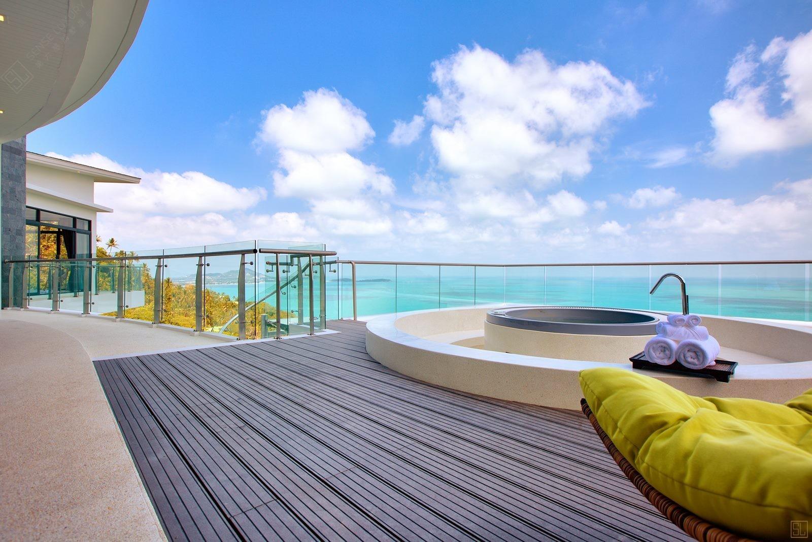 泰国苏梅岛萨瓦蒂别墅阳台