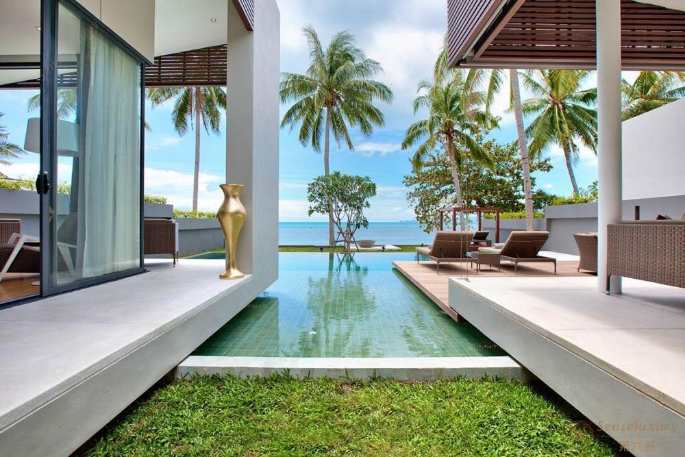 泰国苏梅岛妮恩别墅泳池