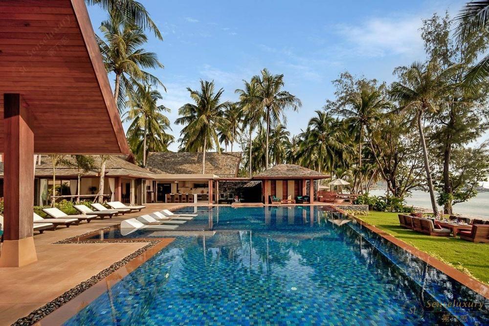 泰国苏梅岛凯乐别墅泳池