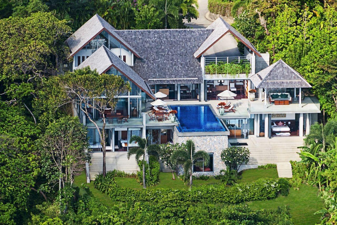 泰国普吉岛萨姆萨拉-洛梦池别墅环境