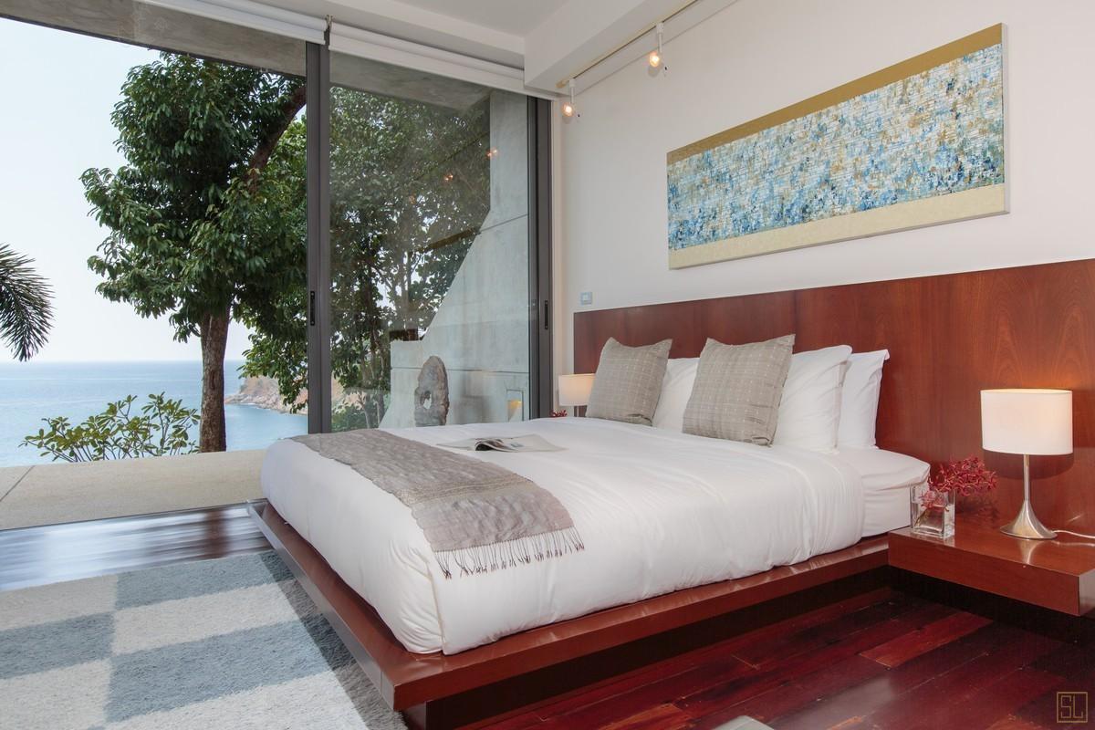 泰国普吉岛萨姆萨拉-洛梦池别墅卧室