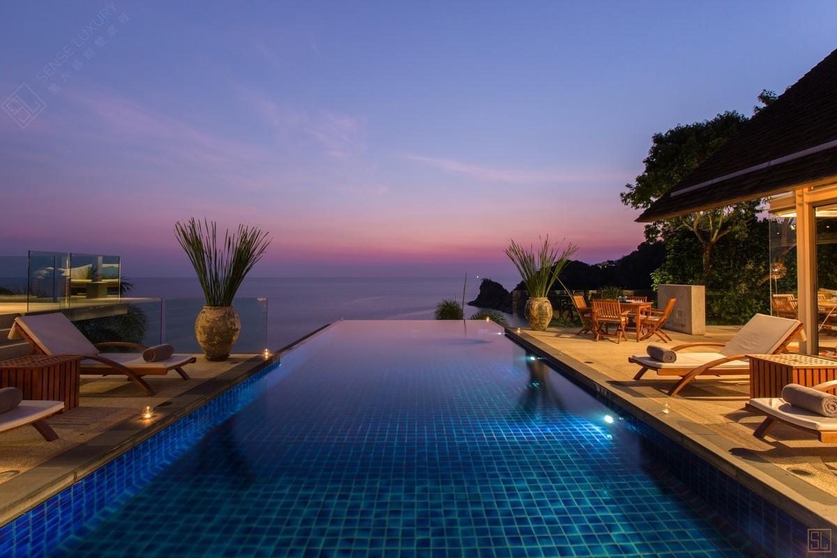 泰国普吉岛萨姆萨拉-洛梦池别墅泳池