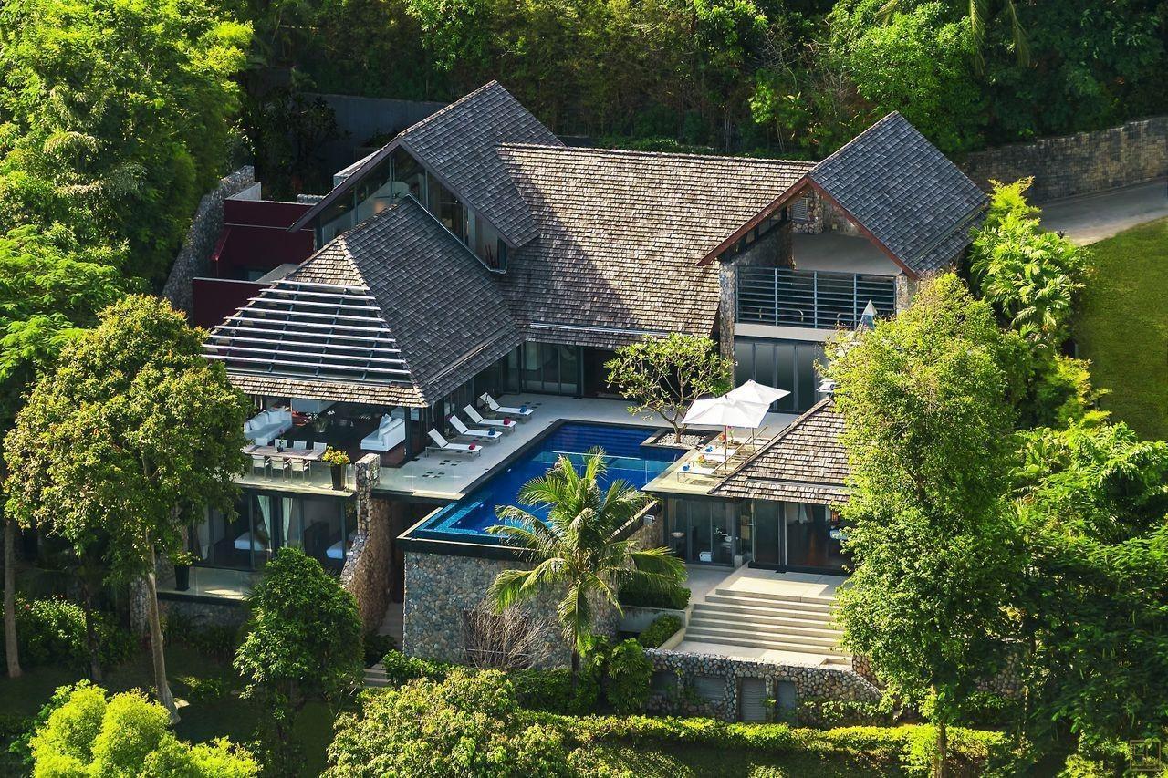 泰国普吉岛萨姆萨拉-利拉瓦蒂别墅森林