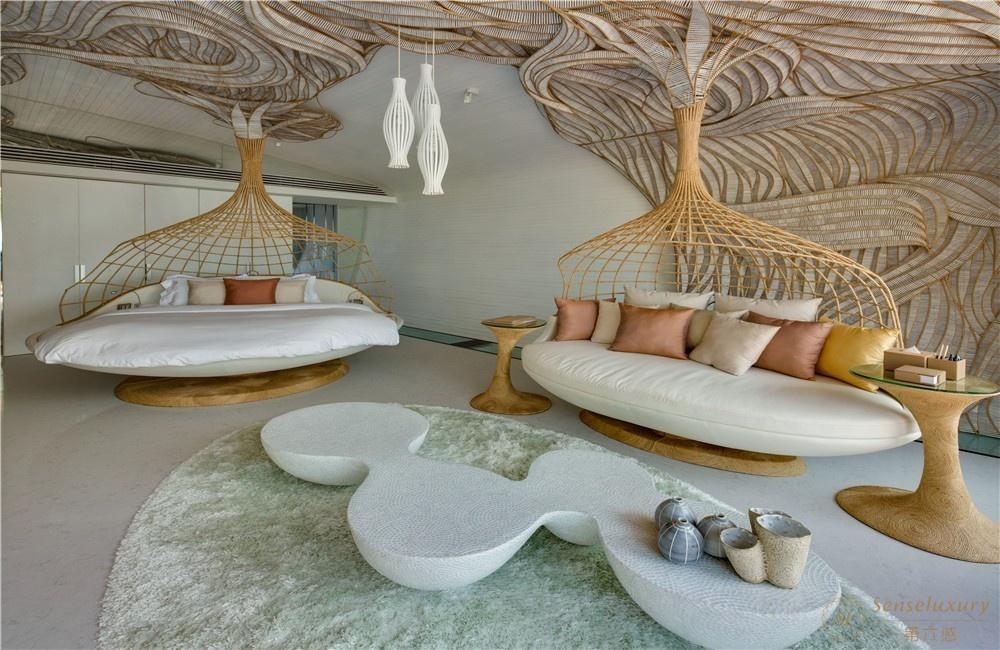 泰國普吉島暹羅別墅大床