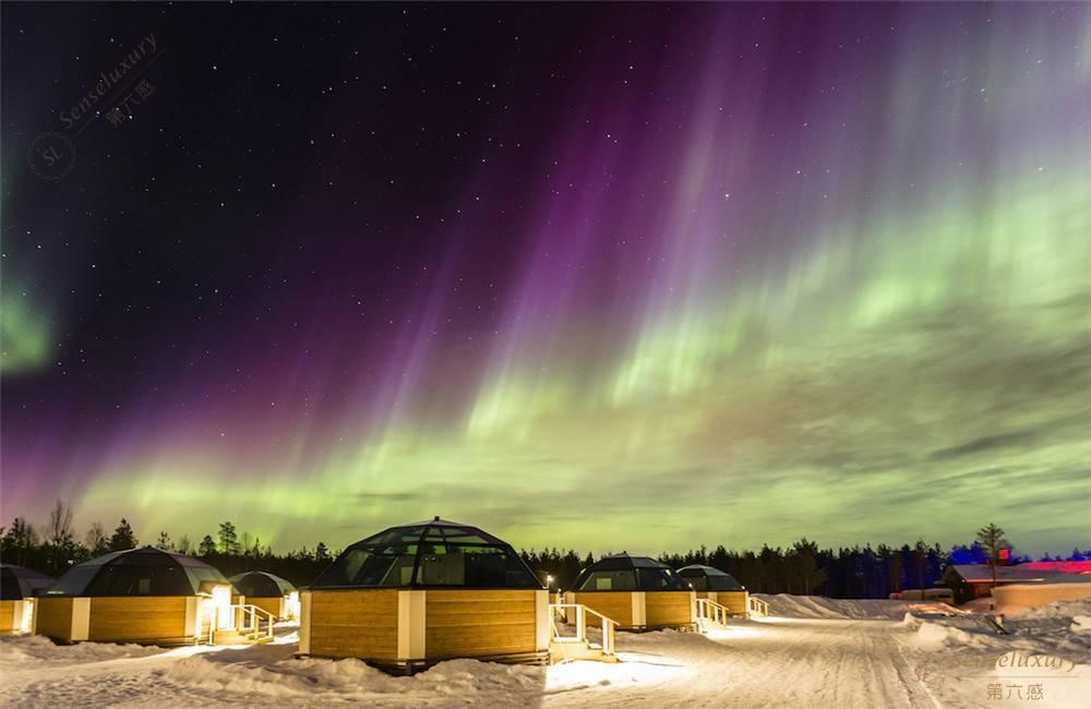 芬兰玻璃屋_玻璃穹顶雪屋预订,罗瓦涅米别墅、公寓、酒店预订-第六感精品 ...
